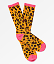 Odd Future Allover Donut calcetines de leopardo