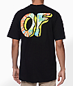 Odd Future Awesome Donut camiseta negra