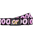 Odd Future Big Donut cinturón negro tejido