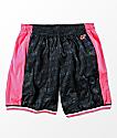 Odd Future Black, Pink & White Basketball Shorts