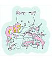 Odd Future Cat Pile Sticker