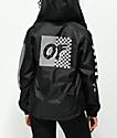 Odd Future Checkered Black Windbreaker Jacket