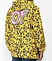 Odd Future Cheetah Print Anorak Windbreaker
