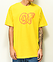 Odd Future Classic Donut Yellow T-Shirt