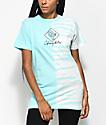 Odd Future Diamond Split camiseta con efecto tie dye