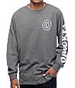 Odd Future Donut OFWGKTA Grey Long Sleeve T-Shirt
