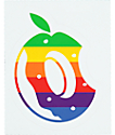 Odd Future Donut Rainbow Logo Sticker
