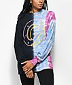 Odd Future Donut Split Tie Dye Long Sleeve T-Shirt