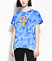Odd Future Donut camiseta azul con efecto tie dye
