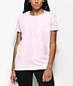 Odd Future Donut camiseta en rosa clara