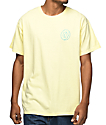 Odd Future Lone Donut Embroidered camiseta color amarillo