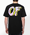 Odd Future OF Donut camiseta negra