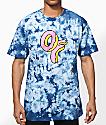 Odd Future OF Donut camiseta teñida anudado
