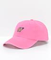 Odd Future Pink Pigment Dye Strapback Hat