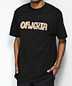 Odd Future Puffy OFWGKTA camiseta negra
