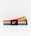 Odd Future Rainbow Web Belt