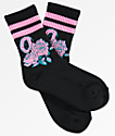 Odd Future Roses Black Crew Socks
