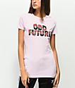 Odd Future Roses camiseta rosa