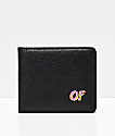 Odd Future Small Logo cartera plegable en negro