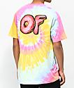 Odd Future Sprinkle Logo camiseta con efecto tie dye