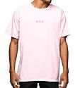 Odd Future Triple Donut camiseta rosa bordada