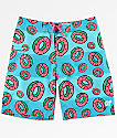 Odd Future Watermelon Stripe Board Shorts