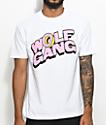 Odd Future Wolf Gang Polka Dot camiseta blanca