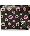 Odd Future cartera plegable en negro