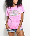 Odd Future x Randy's Donuts Pink Tie Dye T-Shirt