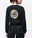Odd Future x Santa Cruz Donut Black Long Sleeve T-Shirt