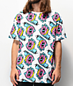 Odd Future x Santa Cruz Donut Scream Allover Print White T-Shirt
