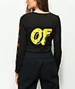 Odd Future x Santa Cruz Logo Black Long Sleeve T-Shirt