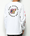 Odd Future x Santa Cruz Screaming Donut White Long Sleeve T-Shirt