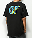 Odd Future x Santa Cruz Screaming Donut camiseta negra