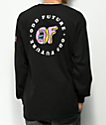 Odd Future x Santa Cruz Screaming Donut camiseta negra de manga larga