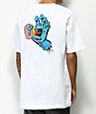 Odd Future x Santa Cruz Screaming Hand camiseta blanca