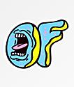 Odd Future x Santa Cruz Screaming pegatina