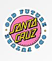 Odd Future x Santa Cruz pegatina