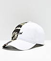 Official 50-50 Camo & White Strapback Hat