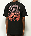 Open925 Hot Tub Club camiseta negra con bolsillo