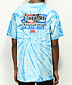 Open925 Peters Heaters camiseta azul con efecto tie dye