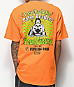 Open925 Psychedelic Palm Readers Orange T-Shirt
