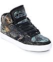 Osiris NYC 83 Vulc Huit Skull Army Skate Shoes