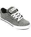Osiris Protocol Grey, White & Slate Skate Shoes
