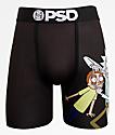 PSD x Rick & Morty Look calzoncillos boxer en negro