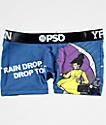 PSD x YRN Raindrop Blue Shorties