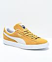 PUMA Classic+ Honey Mustard zapatos de ante amarillo