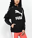 PUMA Classics Logo T7 AOP Black Hoodie