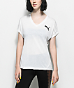 PUMA Elevated Sporty camiseta blanca