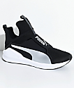 PUMA Fierce Core zapatos en negro y color plata